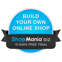 Build your own online shop, 15 days free trial
